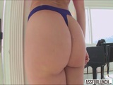 Very nice ass Dani Daniels and her boyfriend performs hardcore sex