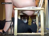 Dominant Chick Uses Slave For Scat Toilet - Scat Videos