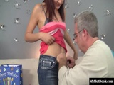 Simone Lopez has always wanted to be fucked by an older man, so