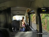 Bbw with huge tits banged in fake taxi