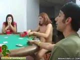 Brandi Playing Strip poker