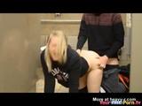 Fucking On Public Toilet In Walmart  - Amateur Videos