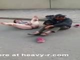 Homeless Woman Spreads Her Legs - Bum Videos