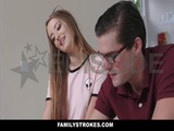 FamilyStrokes  Nerdy StepBro Fucked Me For Homework