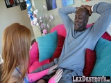 Lustful and lovely Alex Tanner gets hammered by Lexington Steele