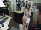 Beautiful and a MILF gets hammered by Shawns big cock in his office