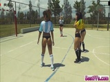 Soccer sex in the game field hard
