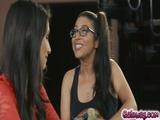 Celeste continues their lesbian adventure