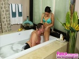 Big ass and tits Amira Adara gets hammered by her stepdad Eric