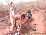 African Girl Has Rough Threesome - Add a tagbigbreast Videos