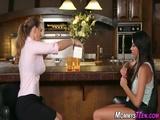 Lesbian teen tribs milf