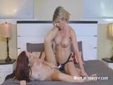 Lesbian Stepmom Diciplines Girl With Strapon - Milf Videos