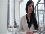 Czech girl Terra Sweet banged for money