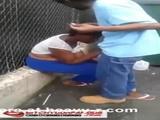 Crack Head Gets Blowjob Behind Dumpster - Crack head Videos
