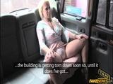 Sasha Steele takes big cock in the taxi