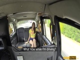 Charming Liz Rainbow gives a sloppy blowjob in the backseat 2