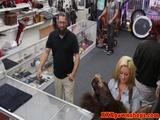 Pawnshop amateur babes need quick cash