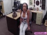 Latina bounces her fat juicy ass