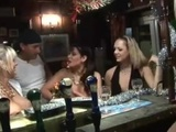 3 council chav slags get fucked in pub cellar