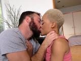 Ebony Arie Faye Fucks Big Cock