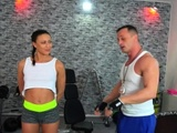 Fitness Rooms Married Euro Couple Wild Fuck