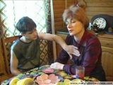 Russian Redhead Mom And step Son 2