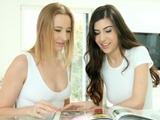 Kiki Cyrus And Anya Krey In Lesbian Scene Exotic Birthday