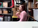 April Reid Grinding Her Teen Pussy On Top