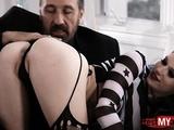 Tattoo Pornstar Anal Sex With Cumshot