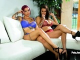 CrushGirls - Peta Jensen playing with toy with her girlfriend