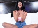 Masturbating Ebony Teen