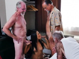 Real Teen First Time The Old Gents Then Lathered Her Up
