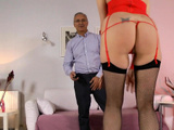 Assfucked European Milf Drilled From Behind