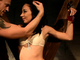 Submissive Slave Dominated Over By Maledom