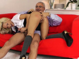 Luscious Blonde Lou Lou's Cuchy In Sex Action